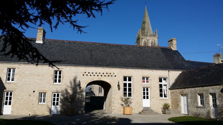 "B&B, Le "" Clos du Mont"" Corail Room - Saint-Côme-du-Mont - Bed & Breakfast"