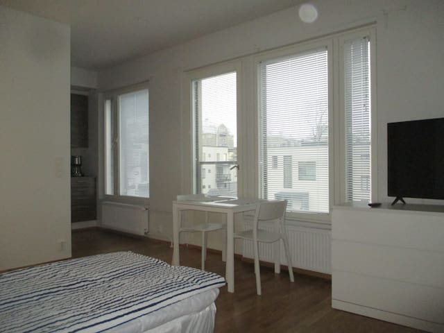 New Penthouse/Studio near city center