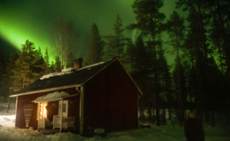 Cosy cabin in stunning beautiful Lapland