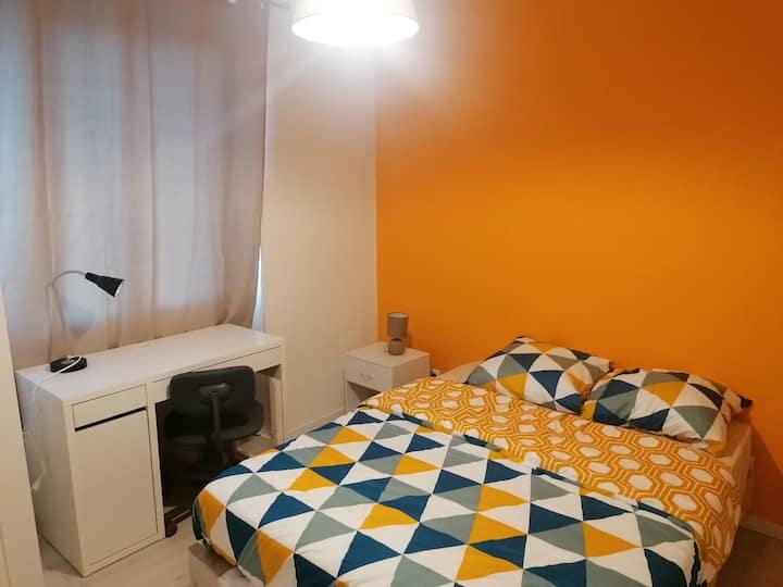 Appartement pour 7 personnes avec Wifi et parking