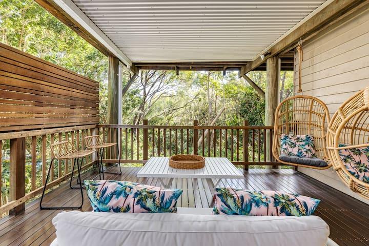 'Treehouse on Adams'- Sunshine Beach 1brm Retreat