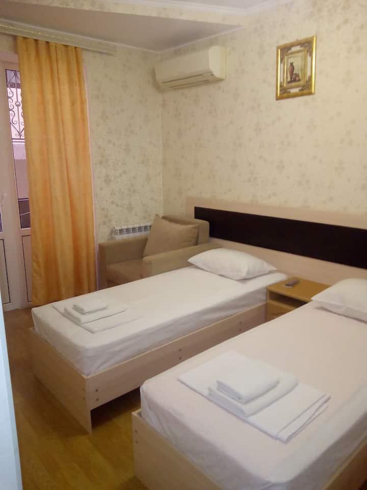 двухместный стандарт с раздельными кроватями