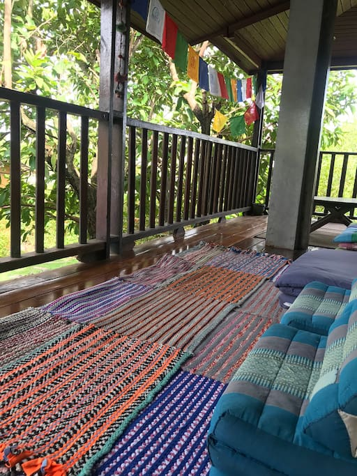Shared Balcony for relax