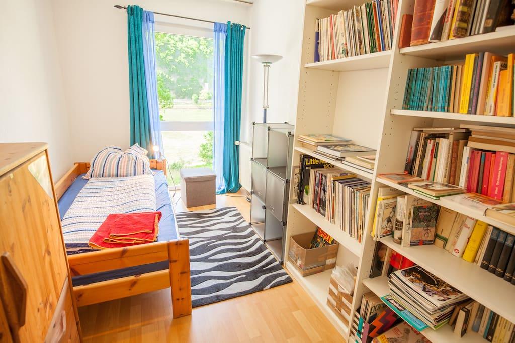 """Dein gemütliches Zimmer """"Comic"""" mit Rheinblick"""