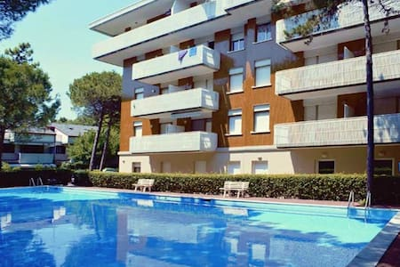 Schubert Zweiraumappartement 4 Betten - Lignano Sabbiadoro - Appartement