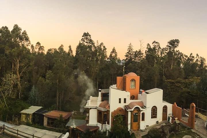 Un espacio de paz y naturaleza en el Ilaló