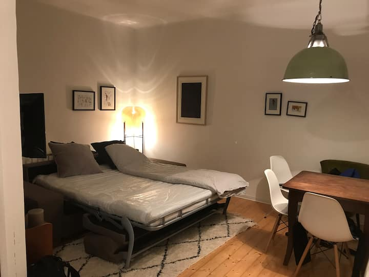 Cozy two room apartment with facilities