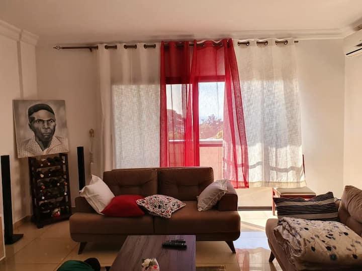 Chambre dans joli appartement Quartier Camayenne