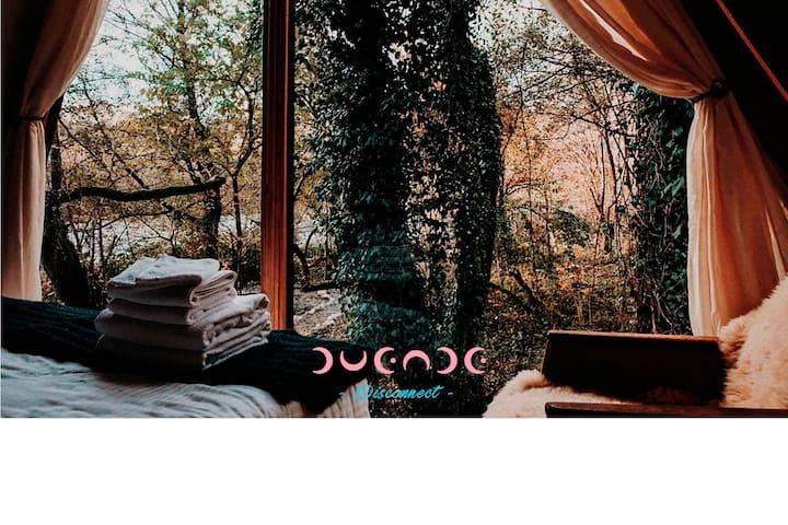 Casita Mimosa/ Hot tub - Duende Hotel - Nat. Park