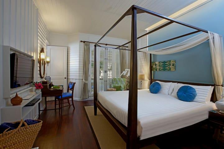 Deluxe Balcony Room · Deluxe Balcony Room by Manathai Koh Samui