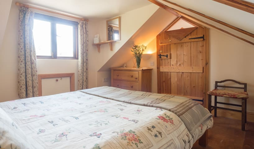 Double attic bedroom