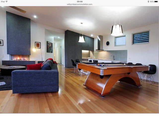 Contemporary, high quality home.