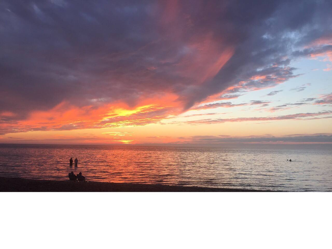 Beautiful sunsets every evening