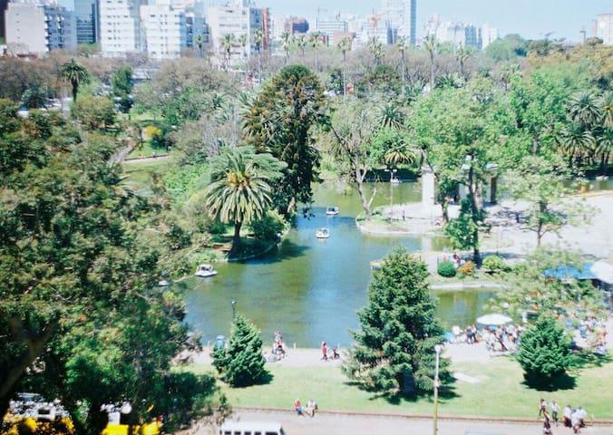 Apartamento completo con vista al Parque Rodo