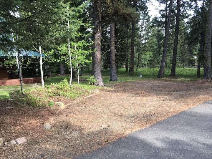 RV Site Next to Ponderosa State Park McCall ID