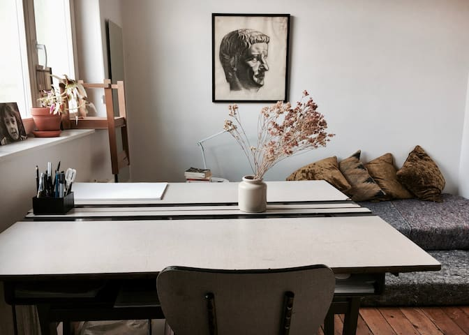 Chambre privée dans un charmant duplex à Forest
