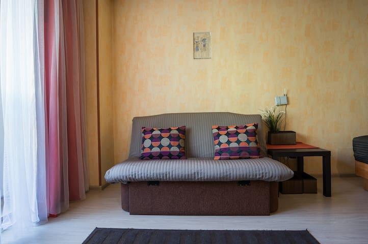 Уютная студия около отеля Европа - Mińsk - Apartament