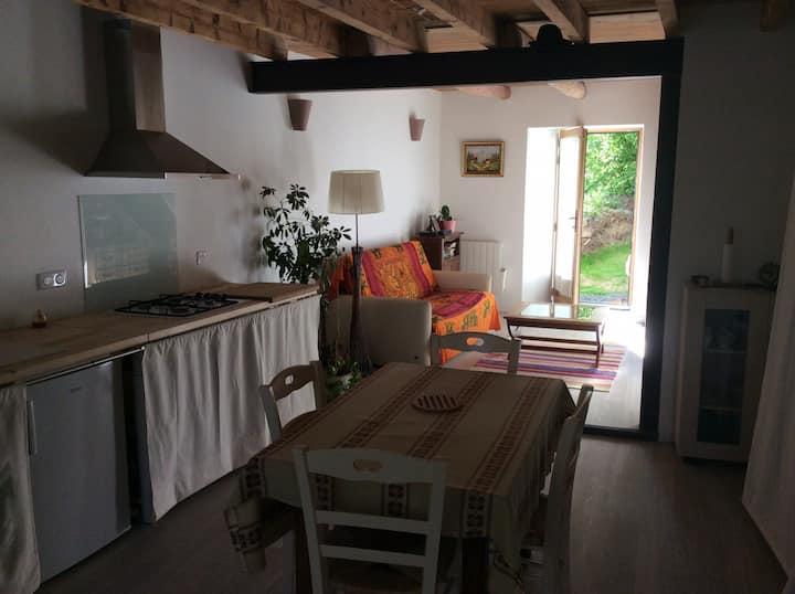 Maison au calme avec jardin à 15 min du Puy