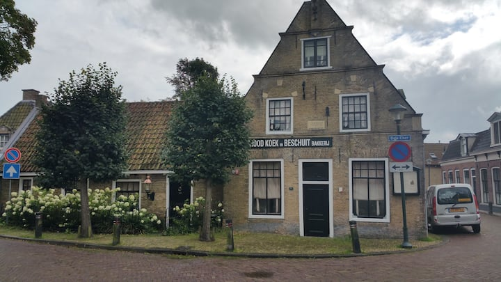 Historical bakery in Wergea close to Leeuwarden
