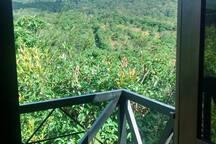 Chalé de madeira no topo da colina em Guaramiranga