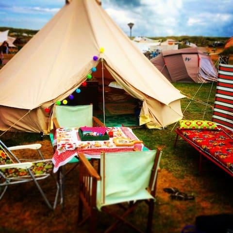 Vintage tent, near Beach, Amsterdam Zaanse Schans