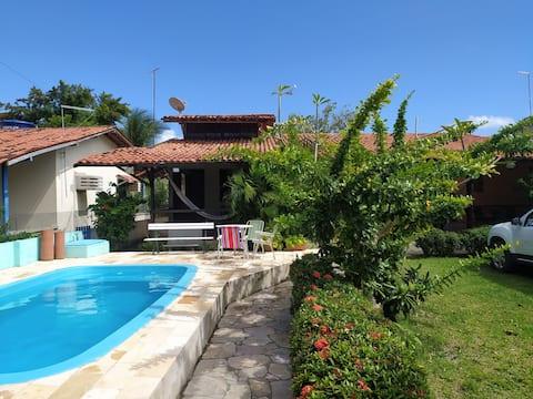 Villa das Pedras: linda casa em Pontas de Pedra