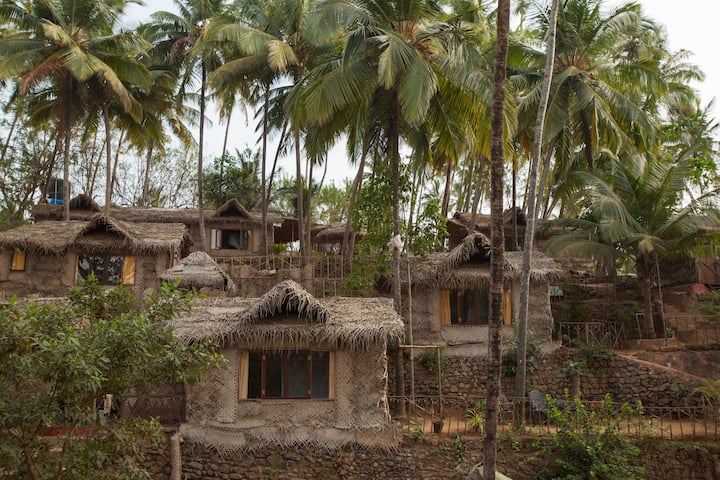 The Ecological Village in Palolem near the Beach 1