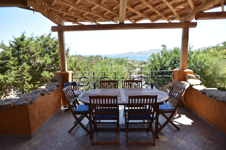 Lockdown stay in Sardinia work from home