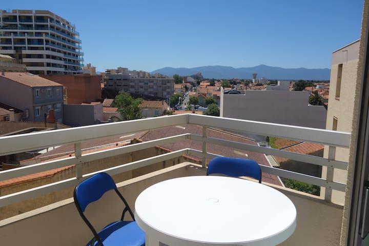 Très beau T2, place méditerranée, bord de mer - Canet-en-Roussillon - Apartmen