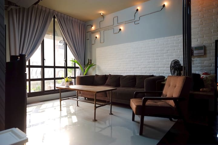 Loft 5F-1 - 前金區 - Apartamento