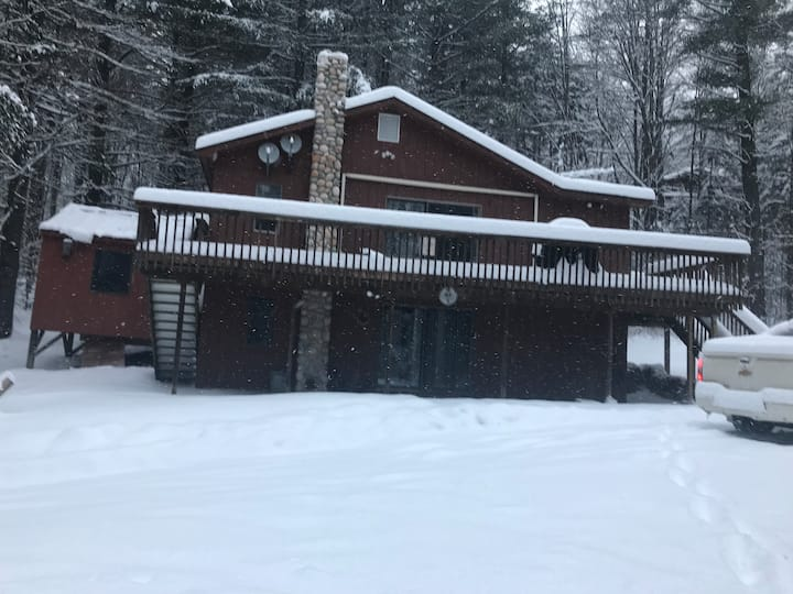 Killington Ski House Lower unit sleeps 10