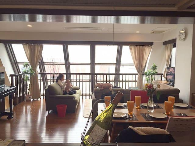 Ueno, Asakusa, Kaminarimon,2minsubway3BT4BR 198sqm - Taitō-ku - Apartamento