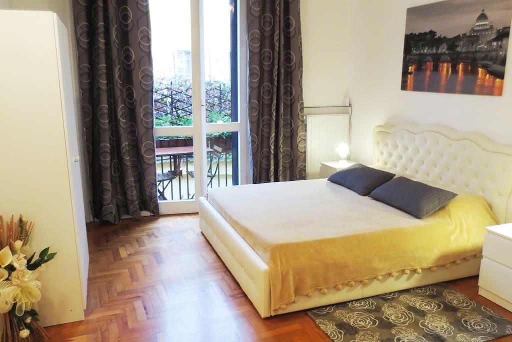 Bedroom n. 1 - Double bed area