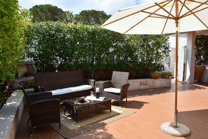 Villino al Sole - villa like a wolk from the beach