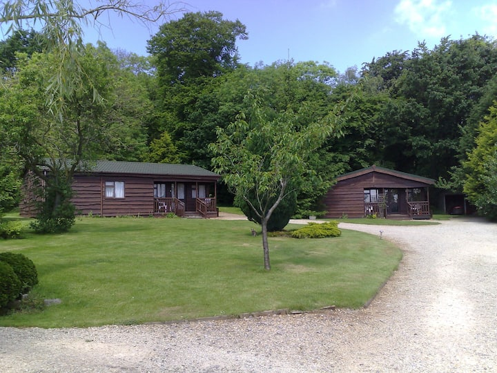Wayside Lodges -  four quiet timber lodges
