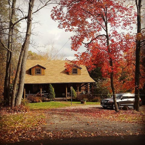Cozy Country Log Cabin - Litchfield - Cabin