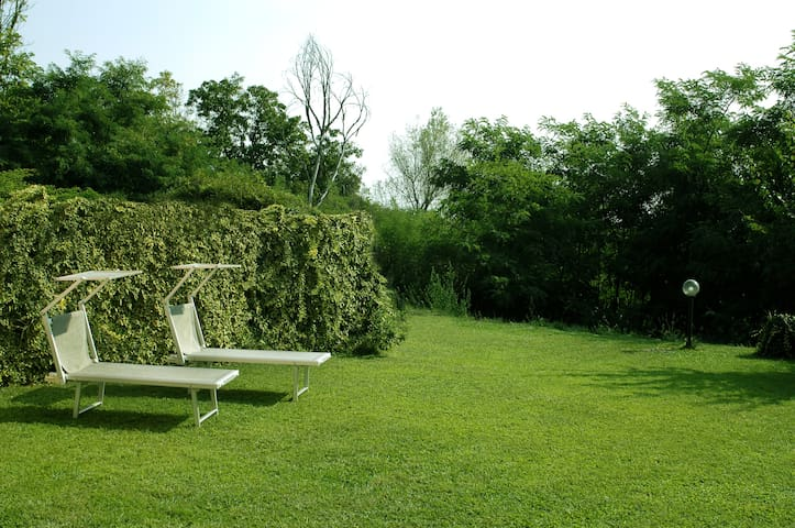 A peaceful flat in the Park of Ticino. Pavia