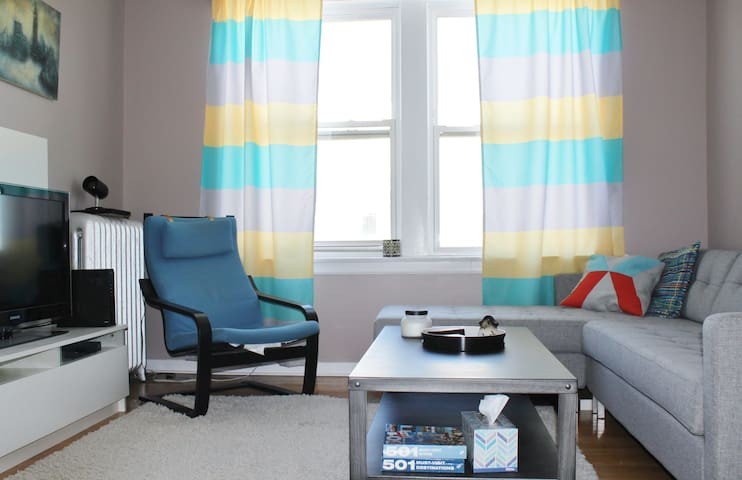 Stylish, comfortable 1br - Chicago - Apartamento