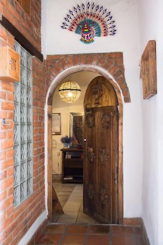 Entrada a Loft Capilla