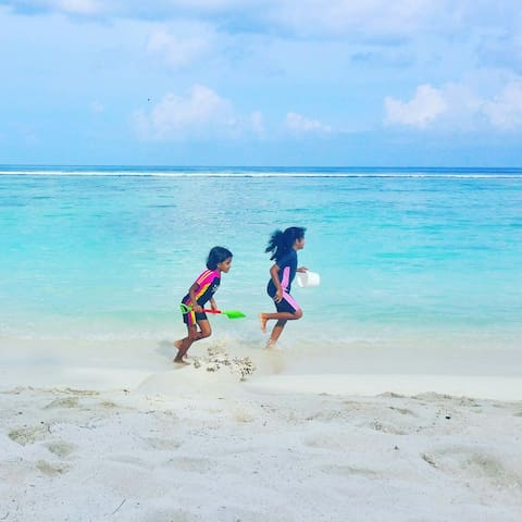 Home stay with a Maldivian family - hulhumale - Lakás
