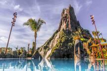 """Universal Studios water park """"Volcano Bay"""""""