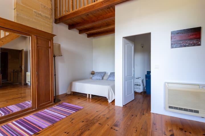 Chambre / Suite bleue au Clos Jacquet