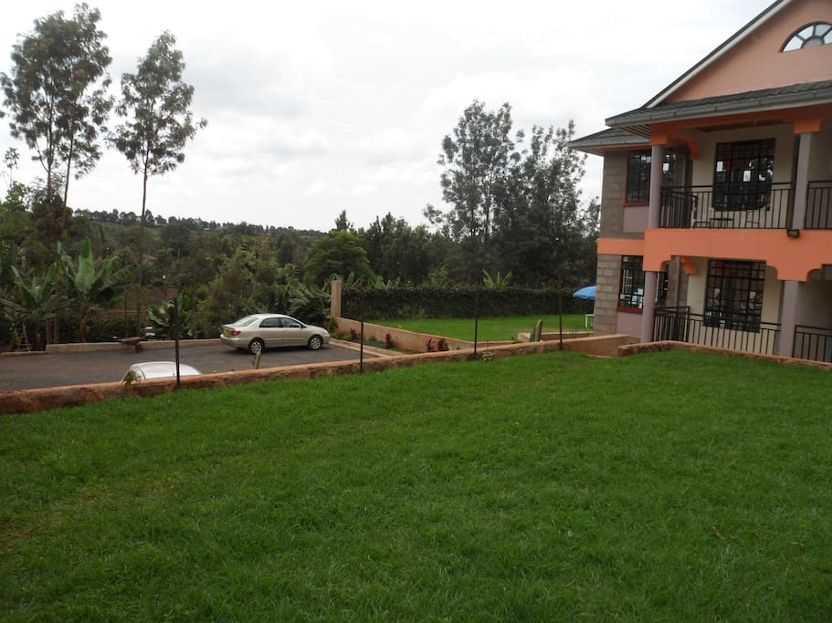 Ample Parking and GROUNDS