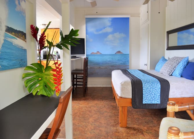 GREAT STUDIO ACROSS FROM BEACH - Haleiwa - Wohnung