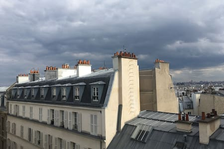 Charming Appartment w/rooftop in Montmartre/Opera - Paris - Wohnung