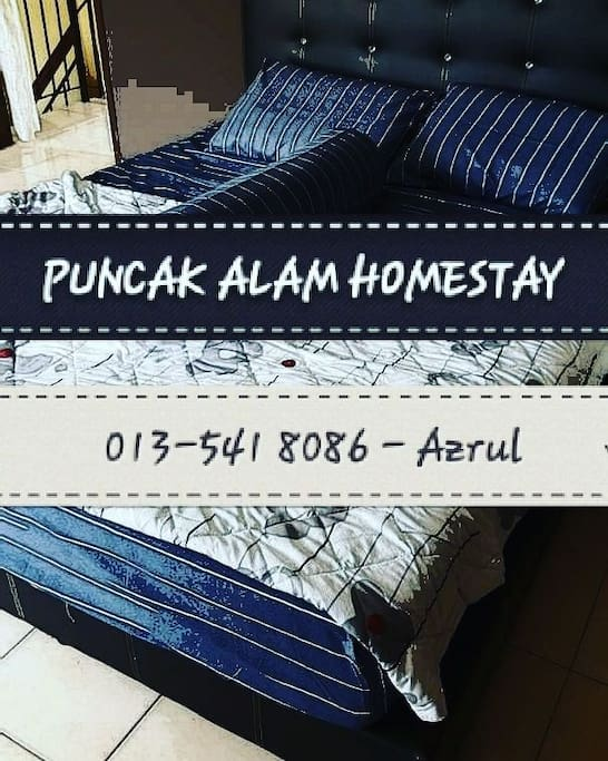 details of the homestay and whatsapp
