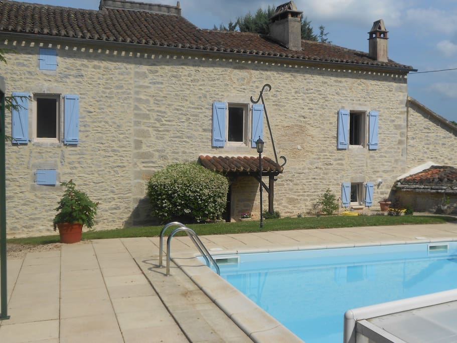 Chambre d 39 h tes proche st cirq lapopie bed breakfast for Chambre d hotes languedoc