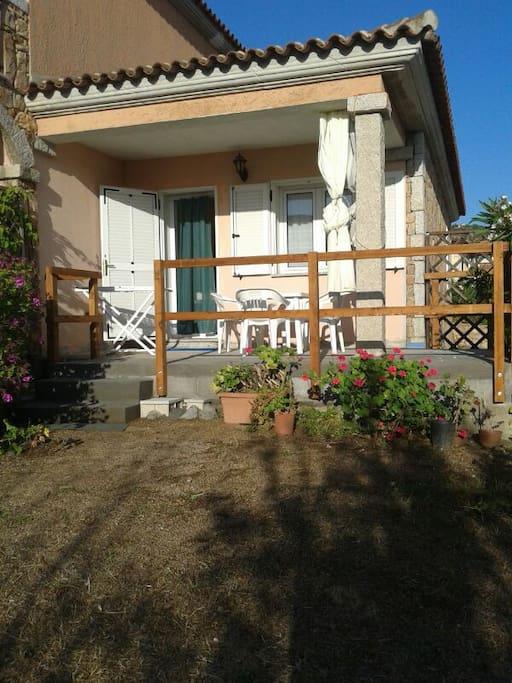 la villetta e la veranda