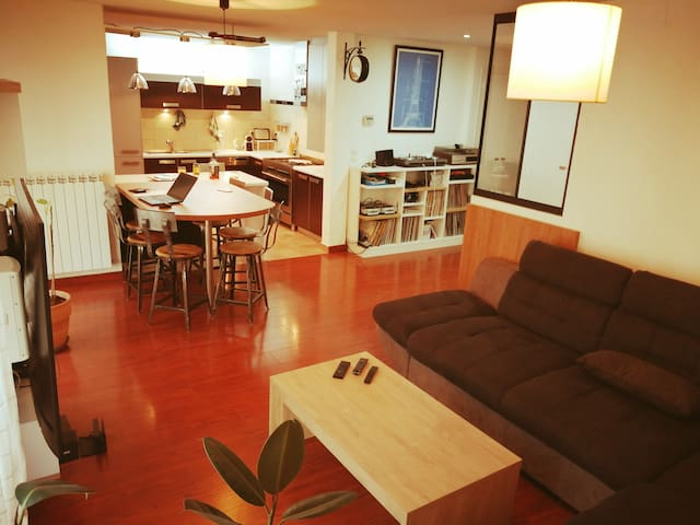 Appartement 2 chambres 6 couchages proche centre