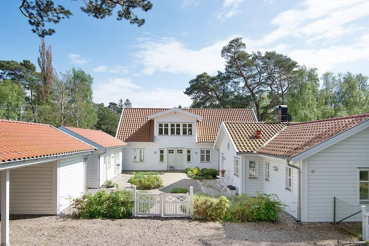 Luxury house with pool  700m to Swedens best beach
